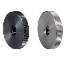 Dado zigrinato / in acciaio inossidabile / a testa piatta