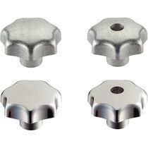 Manopola a stella / filettata / alluminio
