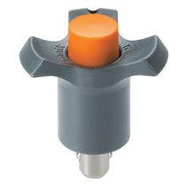 Spina a sgancio rapido con pulsante / con impugnatura a T / regolabile