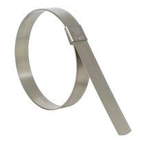 Fascetta stringitubo in acciaio inossidabile / con chiusura dentata / a blocco rapido