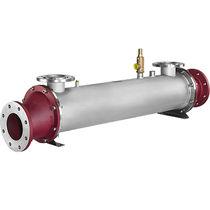 Scambiatore di calore tubolare / liquido-gas / per recupero di calore da gas di scarico