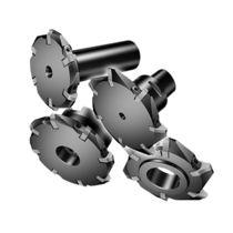 Fresa a riccio / a inserti / per scanalare / per acciaio