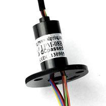 Collettore ad anelli elettrico / per drone / compatto / con immunità al rumore