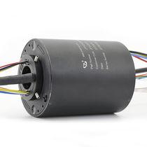 Collettore ad anelli elettrico / via Ethernet / PROFIBUS / ad albero cavo
