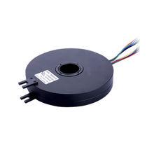 Collettore ad anelli con foro passante / piatto / in plastica / PCB