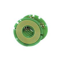 Collettore ad anelli elettrico / USB / tipo pancake / compatto