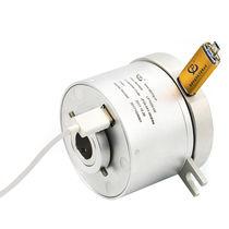 Collettore ad anelli USB / albero di trasmissione / in alluminio anodizzato
