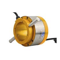 Collettore ad anelli idraulico / albero di trasmissione / per centrale eolica / per gru