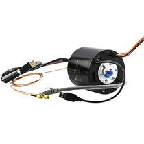 Collettore ad anelli elettrico / via Ethernet / tramite bus CAN / PROFIBUS