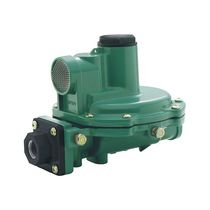 Regolatore e riduttore di pressione per gas / a membrana / in acciaio inossidabile
