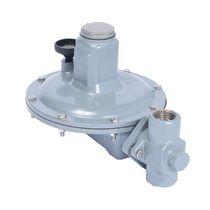 Regolatore di pressione per prodotti chimici / monostadio / a membrana / con ritorno a molla