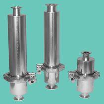 Filtro a gas / con cestello / ermetico / per pompa a vuoto