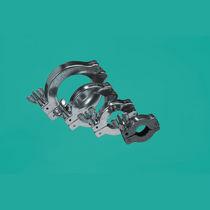 Fascetta stringitubo a orecchioni / in alluminio