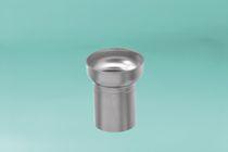 Tappo di protezione non filettato / rotondo / in acciaio inossidabile
