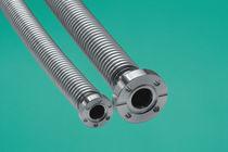 Tubo flessibile in acciaio inossidabile / con flangia / a parete sottile
