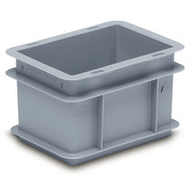 Cassa in plastica / di stoccaggio / da trasporto / impilabile