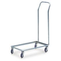 Carrello da trasporto / in metallo / multiuso / con rotelle
