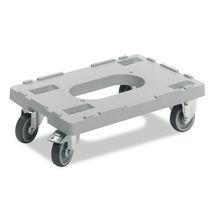 Carrello da trasporto / in plastica / multiuso / con rotelle