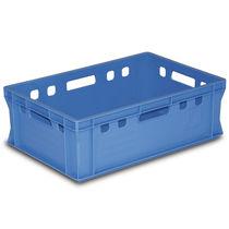 Cassa in plastica / di stoccaggio / da trasporto / per prodotti alimentari