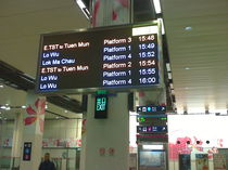 Display di informazione per i passeggeri / a matrice di punti / elettronici