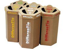 Octabin in cartone / per rifiuti