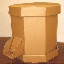 Box ottogonale in cartone
