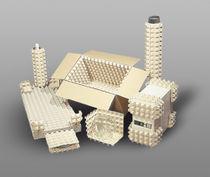 Imballaggio in cellulosa stampata