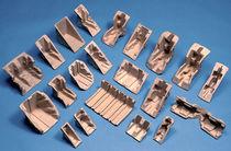 Angolare di protezione in cellulosa stampata