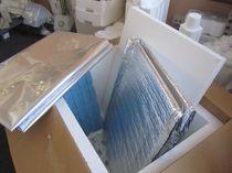 Scatola rettangolare / in polipropilene / di protezione termica / resistente agli UV