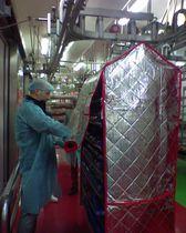Imballaggio per derrate alimentari / isolante
