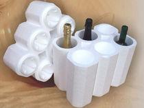 Imballaggio di bottiglie / in polistirene