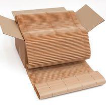 Riempimento di imballaggio carta accartocciata