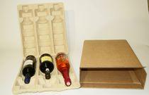 Imballaggio per vino / stampato / su misura