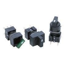 Interruttore con manopola di selezione / multipolare / elettromeccanico / in miniatura