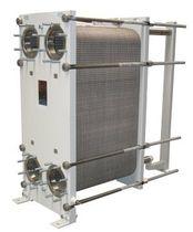 Scambiatore di calore a piastre / liquido / liquido / per prodotti viscosi