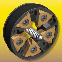 Utensile di filettatura esterno / con turbofilettatura / ad inserti amovibili / per tornio per filettatura