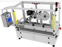 Etichettatrice automatica / per aplicazioni sulla parte superiore del prodotto / per prodotto cilindrico / lineare