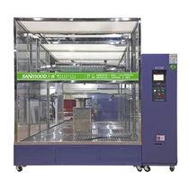 Camera per test di tenuta agli spruzzi d'acqua / con finestra / per macchine di prova di materiali
