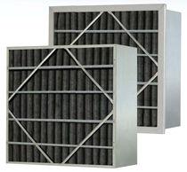 Filtro ad aria / in pannello / a carboni attivi / plissé