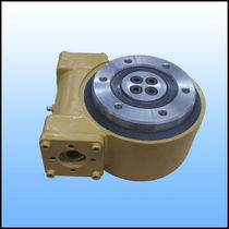 Sistema di trasmissione rotativo per inseguitore solare / a vite senza fine / compatto / a prova di polvere