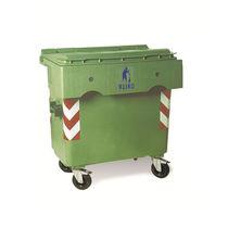 Cassonetto per rifiuti in HDPE / per rifiuti urbani / 2 ruote / 4 ruote