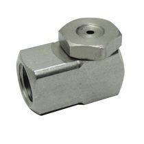 Ugello di polverizzazione / a cono vuoto / per liquidi / in acciaio inox