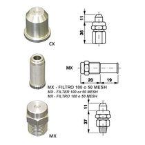 Ugello atomizzatore / a cono vuoto / per liquidi / in acciaio inossidabile