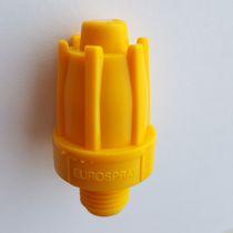 Ugello di polverizzazione / a cono pieno / per aria compressa / in plastica