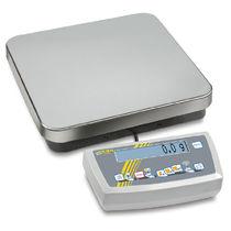 Bilancia contapezzi / con display LCD / in acciaio inossidabile / con interfaccia seriale