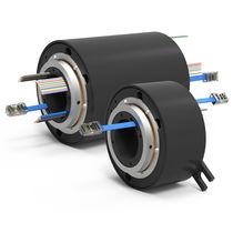 Collettore ad anelli elettrico / via Ethernet / Ethernet gigabit / ad albero cavo
