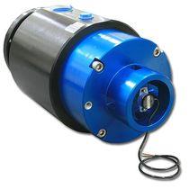 Raccordo girevole per olio / a multipli passaggi / idraulico / con encoder rotativo integrato