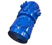 Raccordo girevole per gas / a 6 passaggi / idraulico / su misura