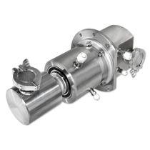 Raccordo girevole per acqua / per gas / a 3 passaggi / ad alta pressione