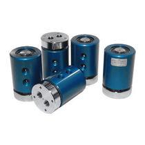 Raccordo girevole per gas / a 2 passaggi / per tavola rotante / in alluminio